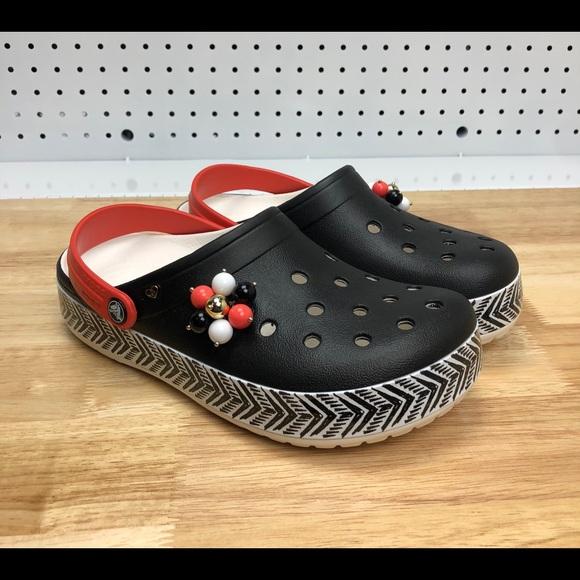 b0612f29e Crocs Drew Barrymore Crocband Chevron Clog Sz 8
